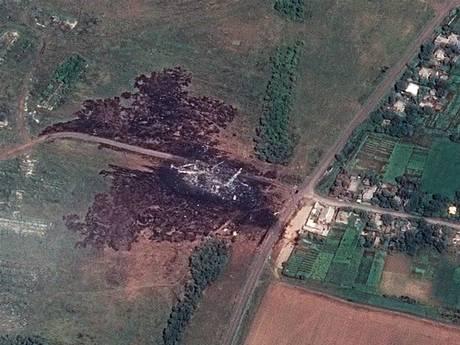 MH17 Crashsite