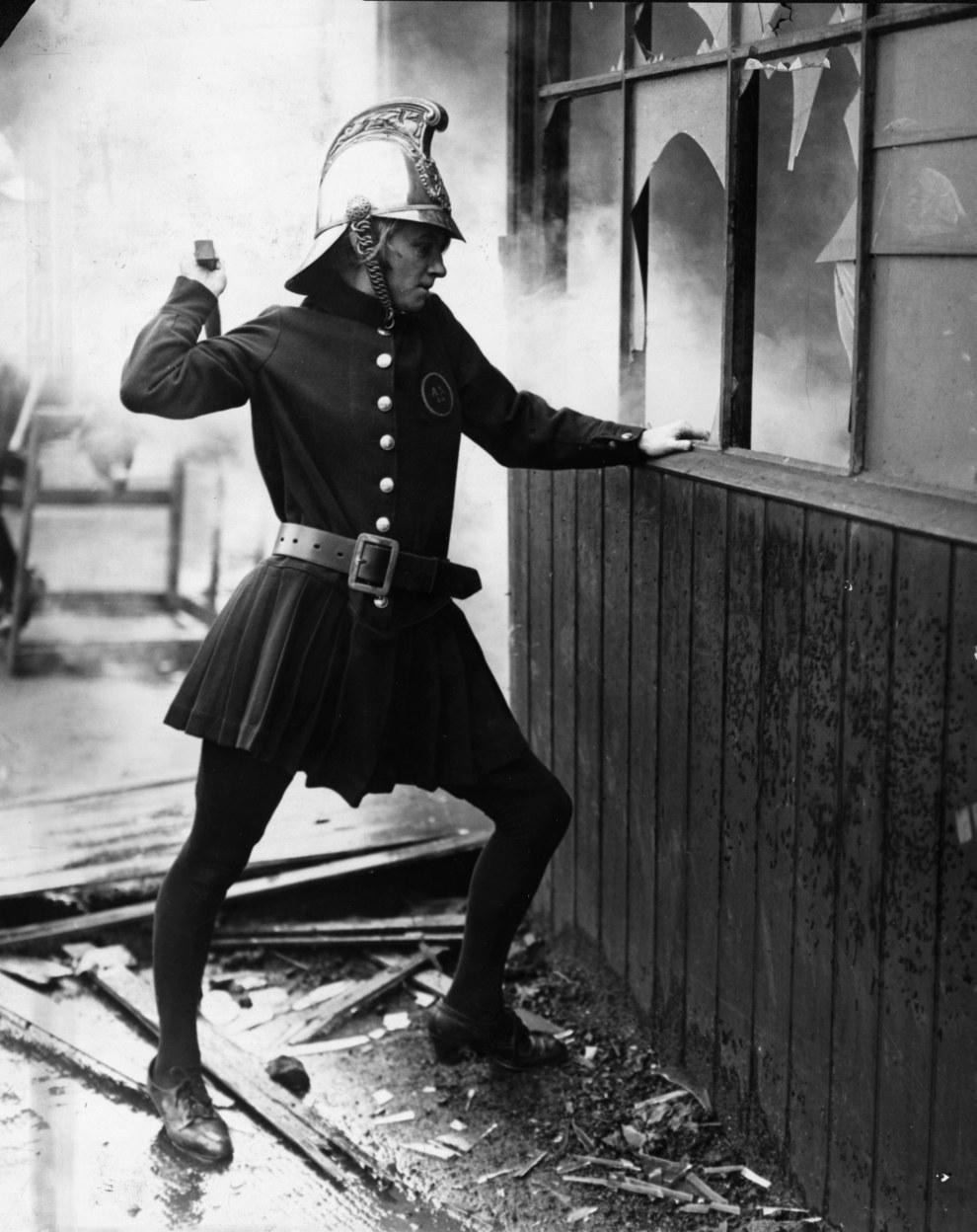 Achille Serre Ladies Fire Brigade London 1926