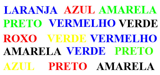kleurentest Portugees: betekenis zit waarnemening niet in de weg