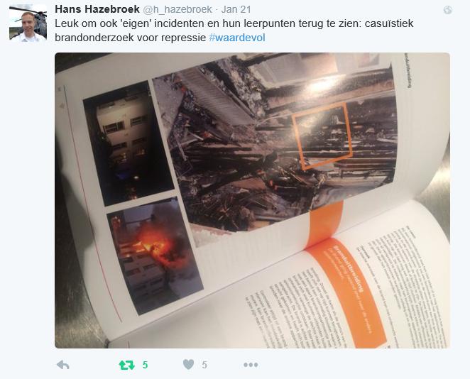 foto tweet brandonderzoek