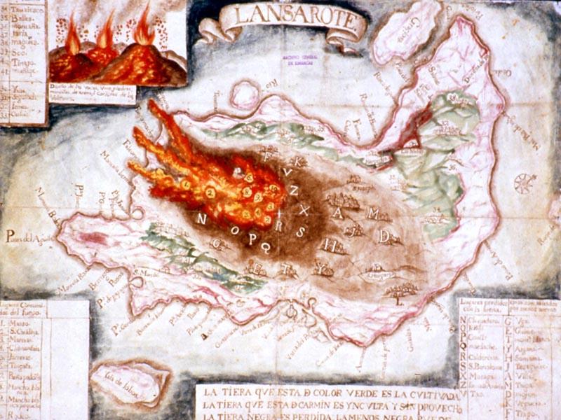 Lanzarote Vulkaan 1730