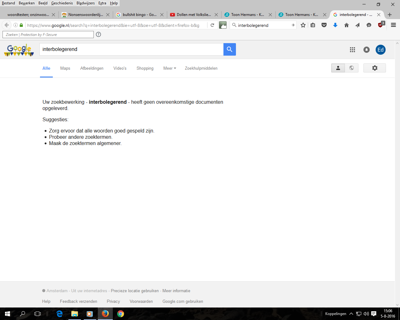 Interbolegerend Search Results