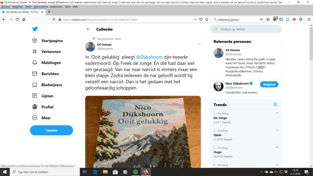 Rizoomes denkt over Nico Dijkshoorn Ooit Gelukkig