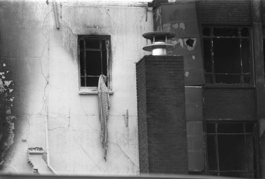 Opmerkzaamheid: detail na brand in Silveren Seepaerd