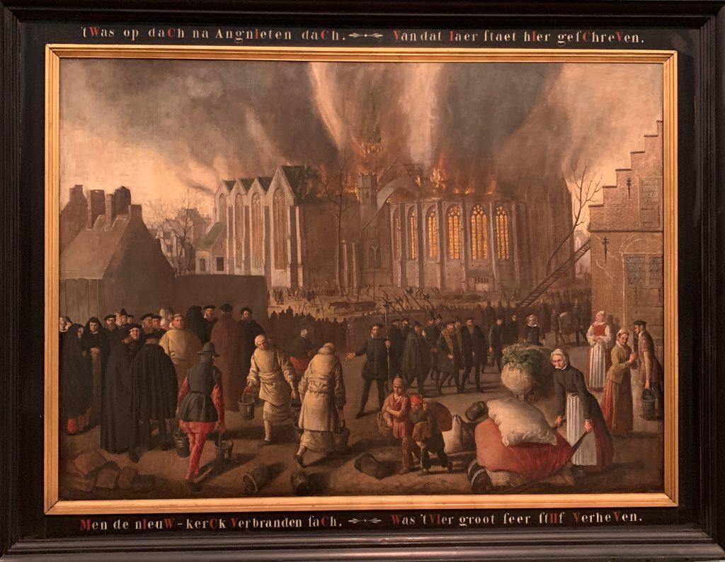 Brand Nieuwe Kerk Dordrecht 1568
